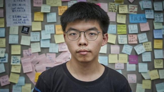 """香港中学教材竟称黄之锋""""中华传统美德名人"""""""