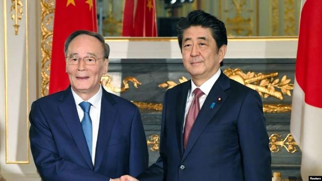 日首相要求北京就扣押日本公民案采取积极行动