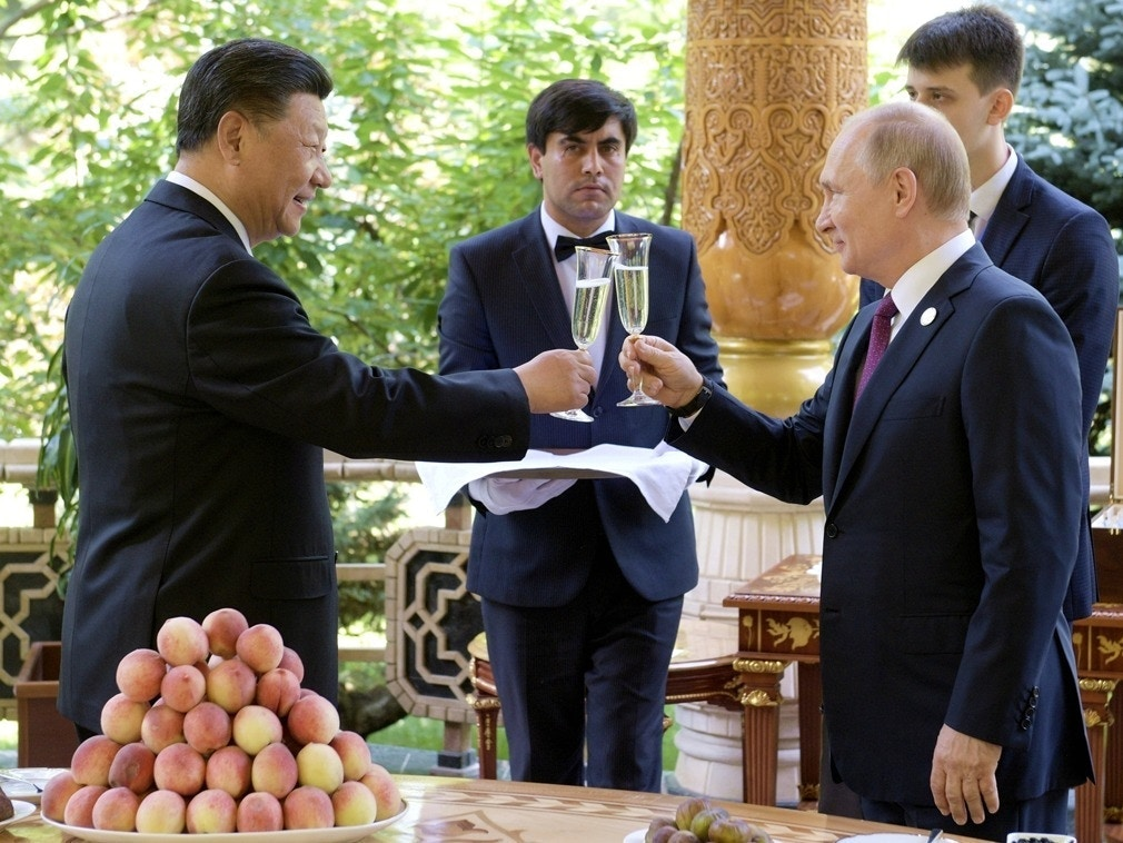 中俄或将缔结军事同盟 普京:两国间重大秘密