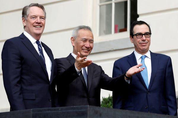 """美中贸易代表周五通话 就""""核心问题""""达成共识"""