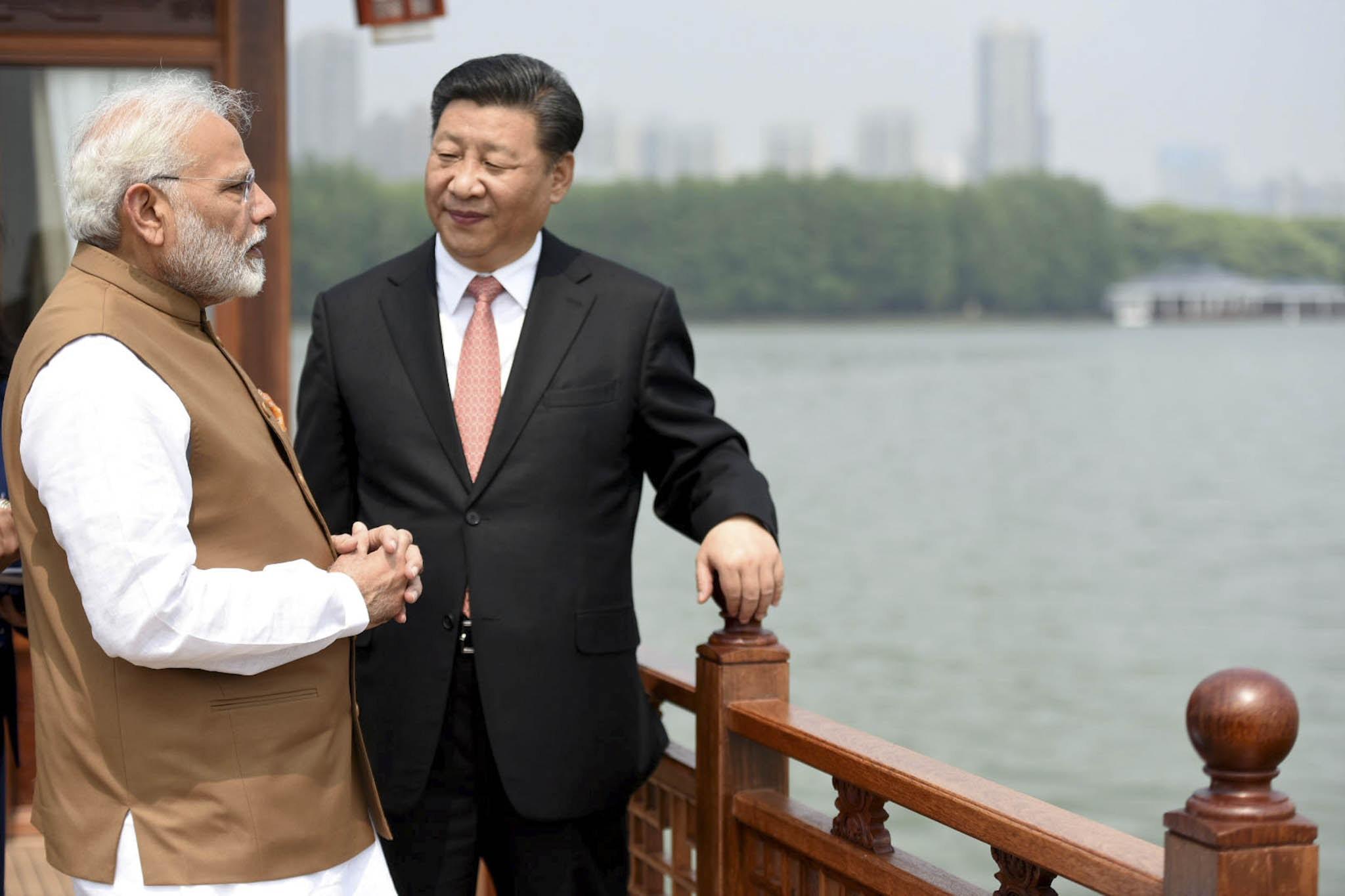 印度终究避不开中国