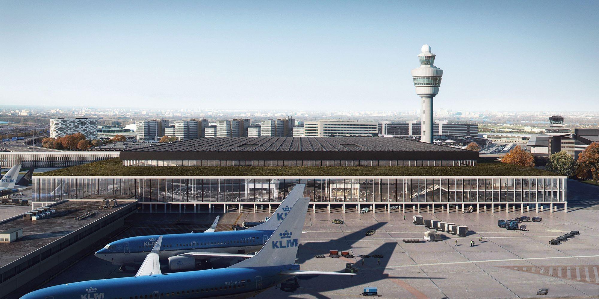 ▲�荷兰阿姆斯特丹史基浦机场。(图/取自史基浦机场脸书)