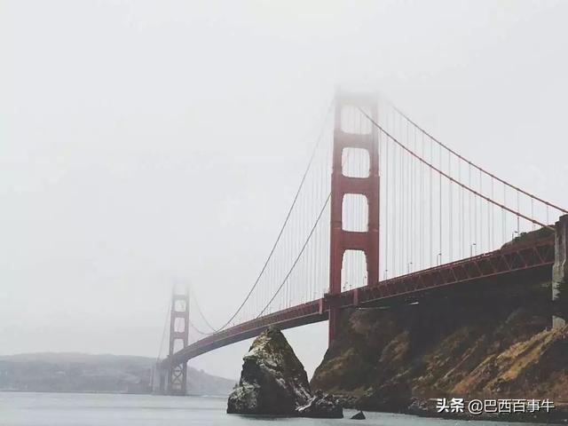 美国旧金山再起野火,烟雾席卷湾区,奥克兰能见度仅0.25英里