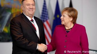 蓬佩奥呼吁德国:一起对抗中俄 为自由而战