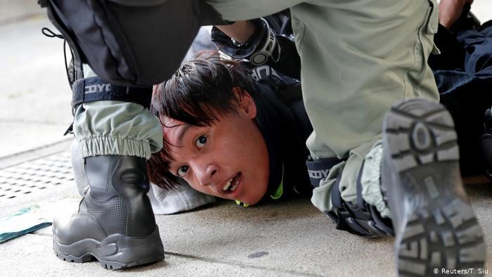 Demonstration gegen die Regierung in Hongkong (Reuters/T. Siu)