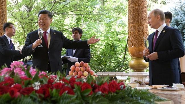 习近平与普京金砖会晤 商讨中俄天然气大项目