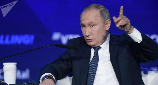 普京:中国的经济比美国更有效率 华盛顿施加限制