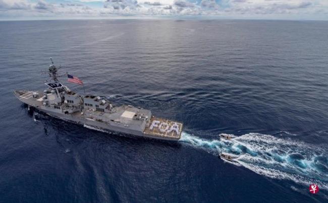 敏感时刻 两美舰入南沙西沙海域 中国:别挑衅