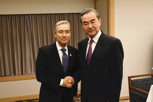 加新任外长与王毅首次会晤,王毅这样说