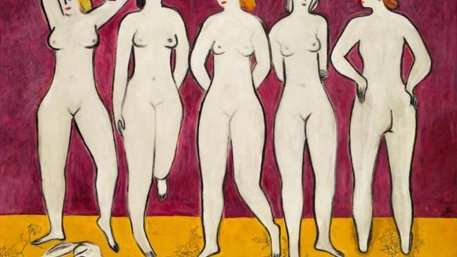 《五裸女》拍卖大幅刷新常玉拍卖纪录