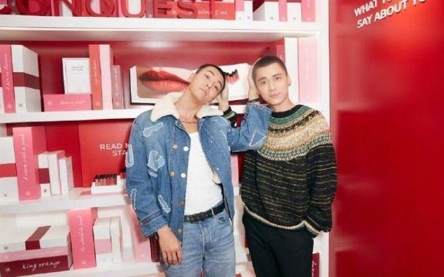 32岁李易峰与34岁陈伟霆再同框寸头比帅