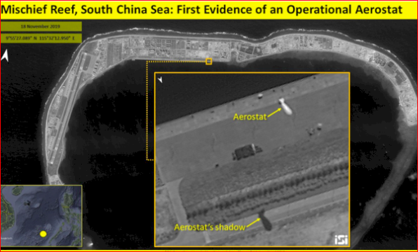 卫星影像证实北京加强南海军事部署