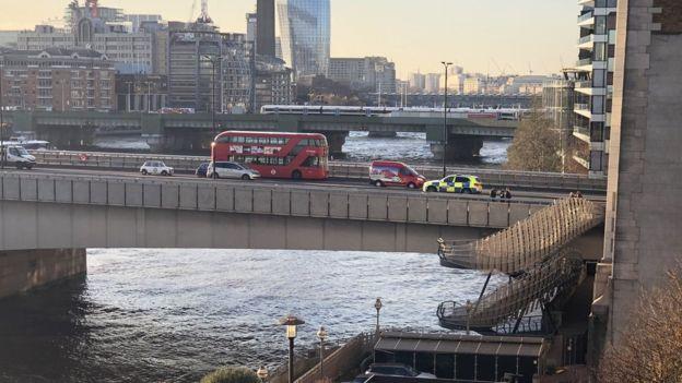 伦敦桥恐攻事件 伊斯兰国宣称旗下战士犯案