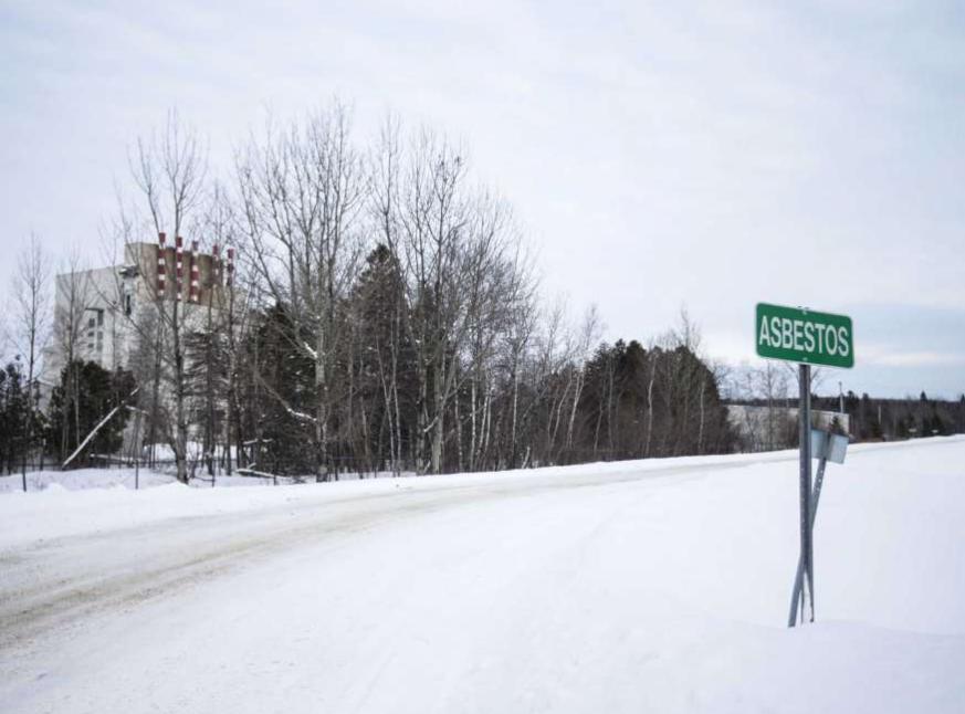 加拿大魁北克省石棉小镇决定明年改名。(图源:彭博社)