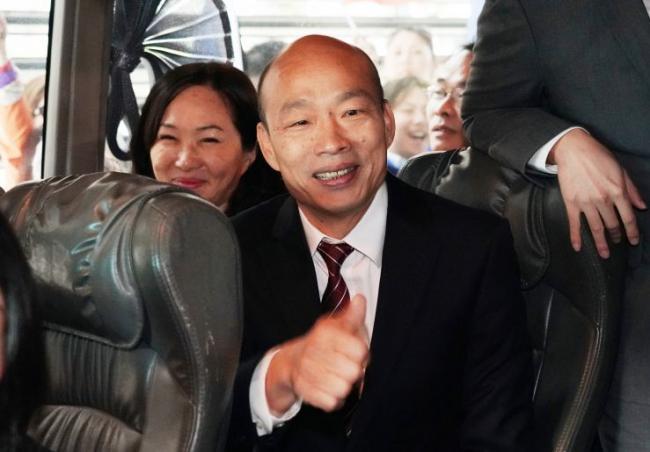 不寻常 蔡英文警卫官改任韩国瑜随扈 被疑为眼线