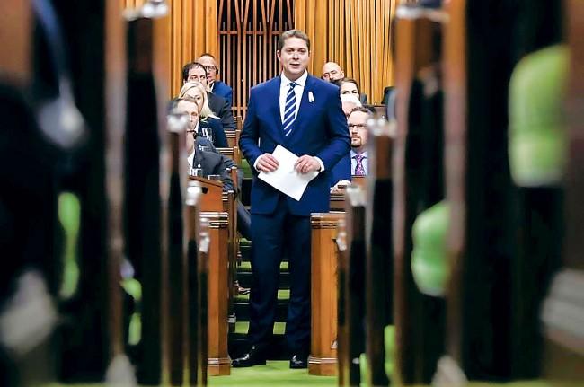 加拿大保守党党领辞职  华裔党员这么说