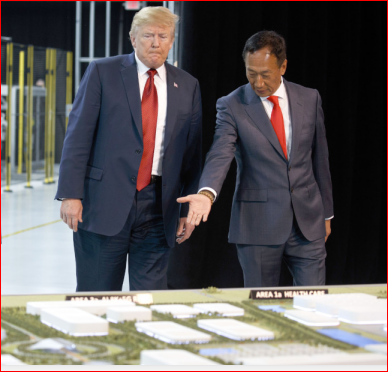 鸿海缩减美国工厂规模 威州威胁取消优惠