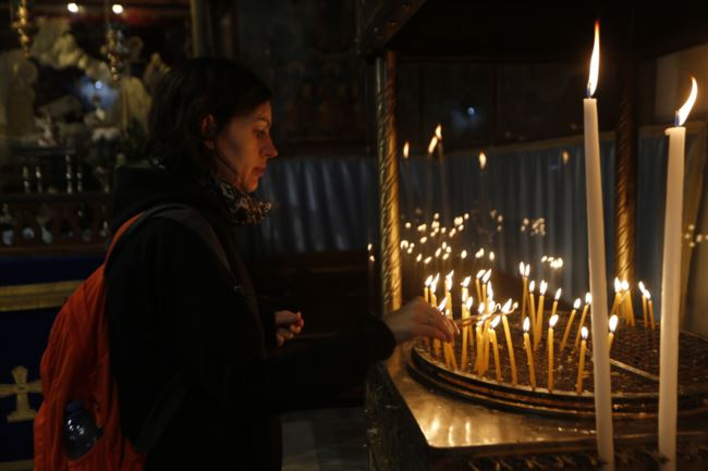 以色列特许:加沙地带的基督徒到圣城伯利恒