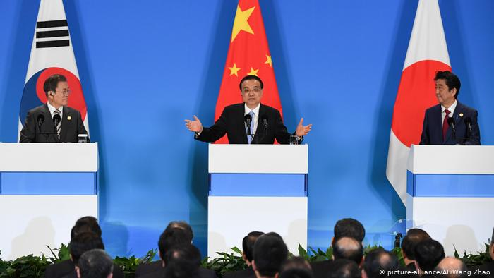 China Ostasien-Gipfel (picture-alliance/AP/Wang Zhao)