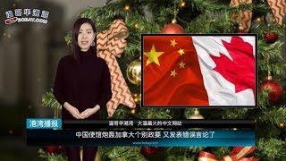 中国使馆炮轰加拿大个别政要  又发表错误言论了