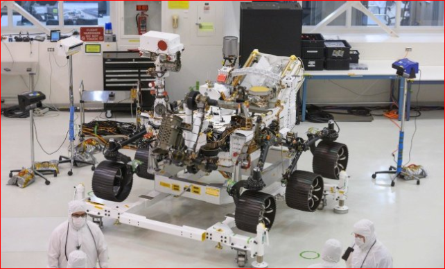 寻找火星古老生命迹象 NASA新探测车明年上路