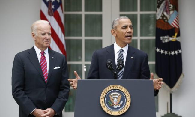 拜登:若入主白宫 考虑提名奥巴马任大法官