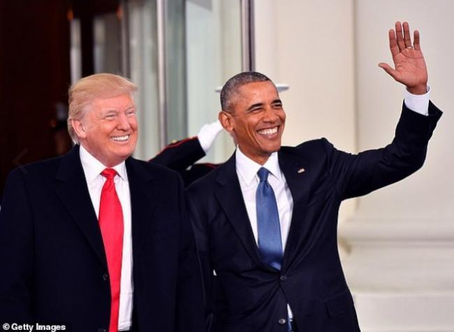 川普、奥巴马不相上下 荣膺全美最受敬仰男士