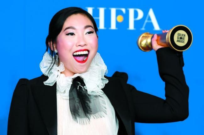 金球奖:华裔女星凭这部片成首个亚裔影后