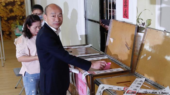 Taiwan Präsidentschaftswahl   Han Kuo-yu (picture-alliance/AP Photo/R. B. Tongo)