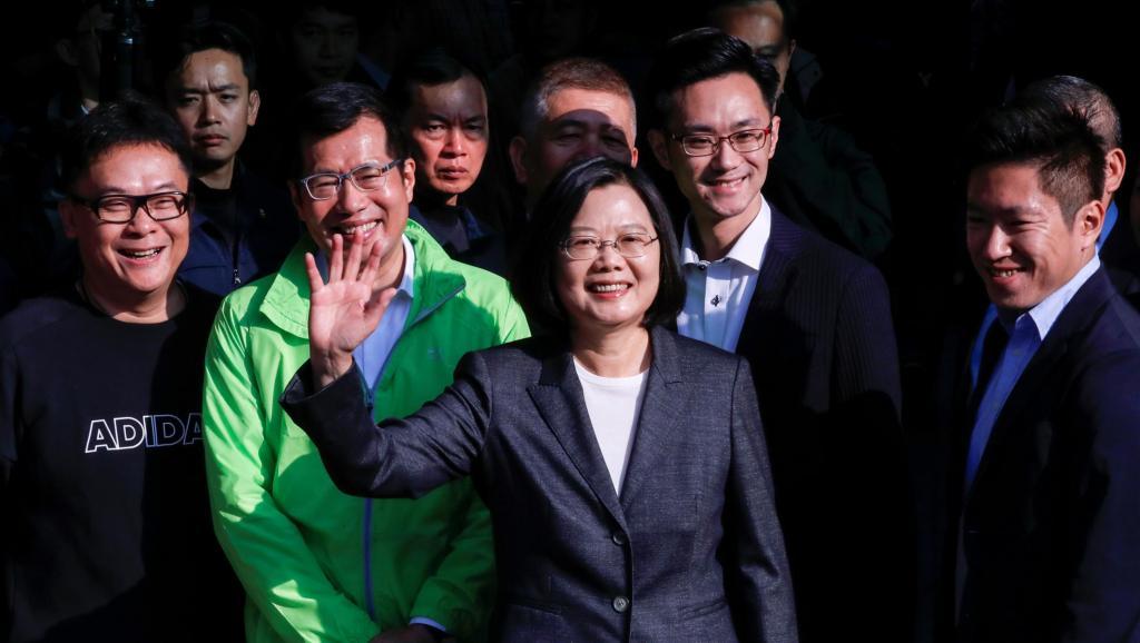 台湾总统蔡英文获得2020大选胜利