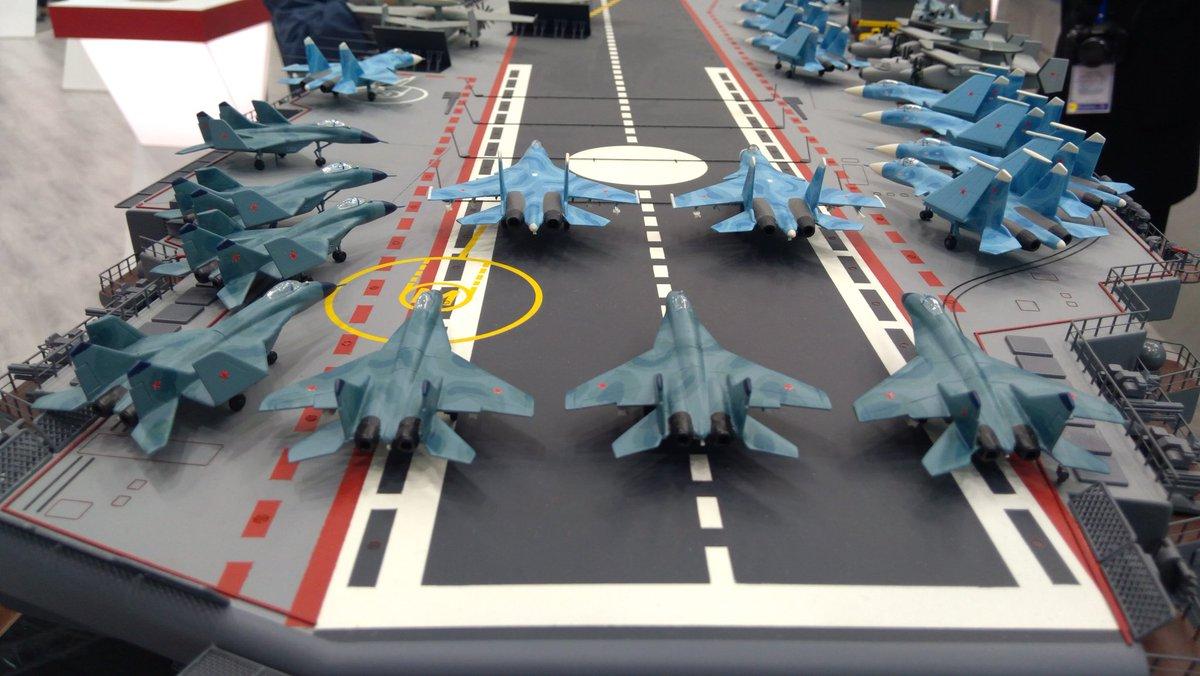 普京看过的俄军新型航母方案 更多细节来了