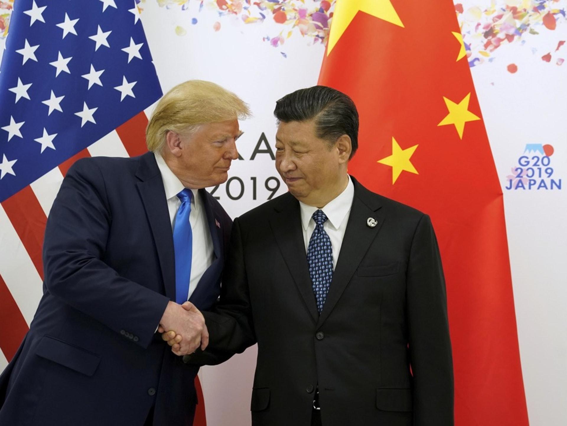 特朗普�橥怀�f�h的重要性,此前甚至�多次表示,要和中����家主席�近平一起�署第一�A段的�f�h。(Reuters)