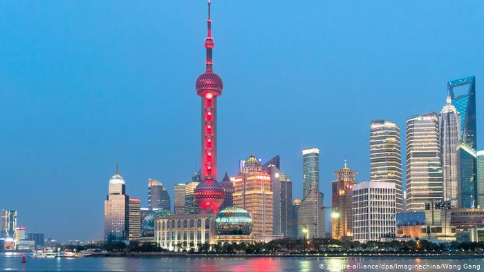 Aussichtsplattformen dieser Welt Shanghai Oriental Pearl TV Tower (picture-alliance/dpa/Imaginechina/Wang Gang)