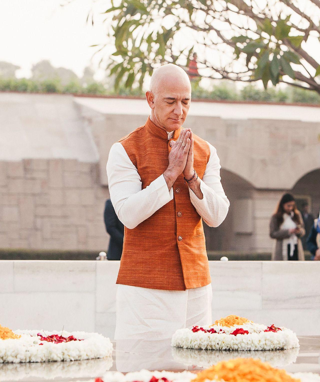 亚马逊贝佐斯:21世纪将是印度人的世纪