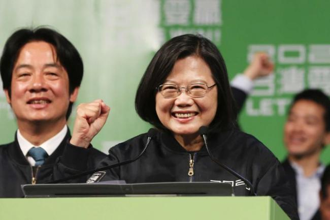 蔡英文当选后 安倍晋三让人带了封信给她