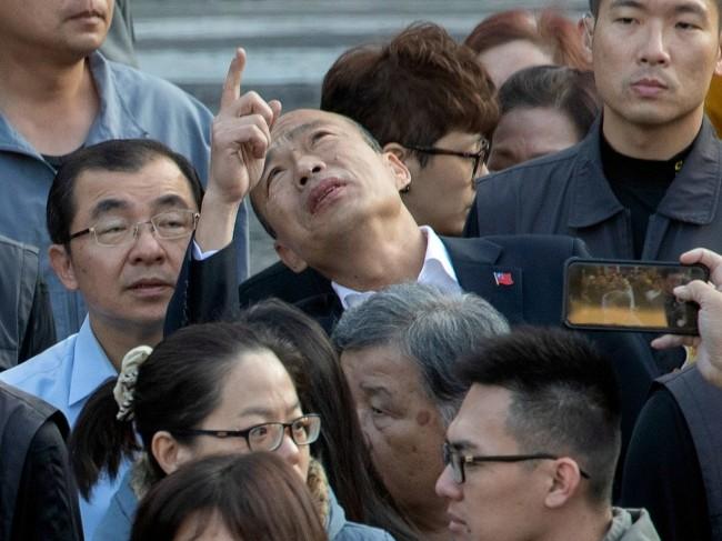 最不希望韩国瑜赢的人 恐怕在国民党内