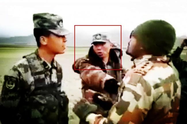 中印边境对峙 中国军官对印军爆粗口撂狠话