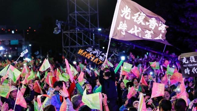 台湾大选蔡英文赢了  北京将惩罚挺蔡台商