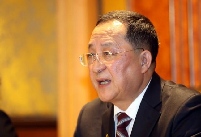 北韩外长李容浩传遭撤换 继任者下周发布