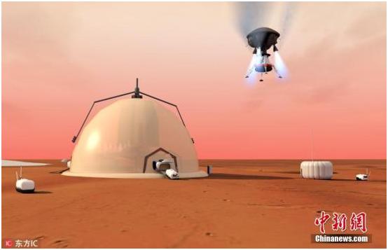 马斯克:2050年前送百万人到火星 没钱可贷款