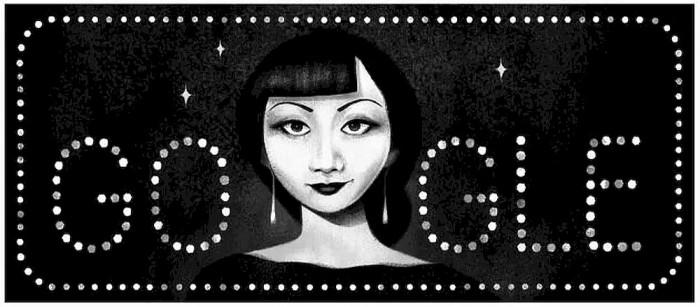 有没有发现:今天的谷歌涂鸦 是这位华裔女星