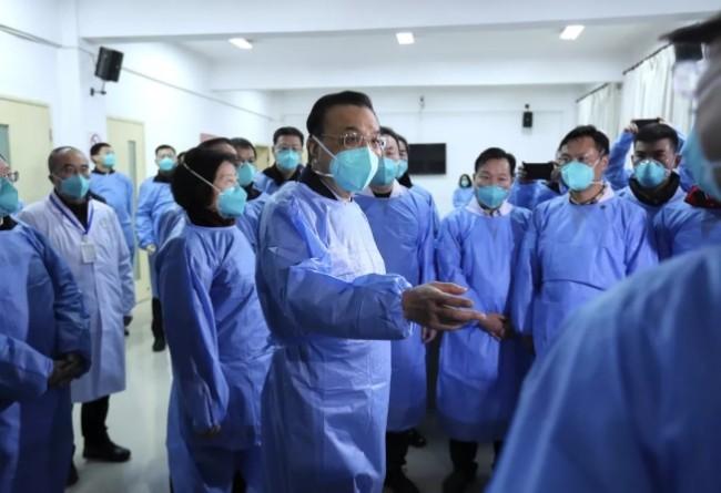 新型肺炎爆发近一个月 李克强终于去武汉了