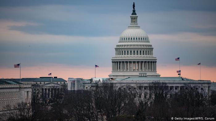 Amtsenthebungsverfahren in den USA (Getty Images/AFP/S. Corum)