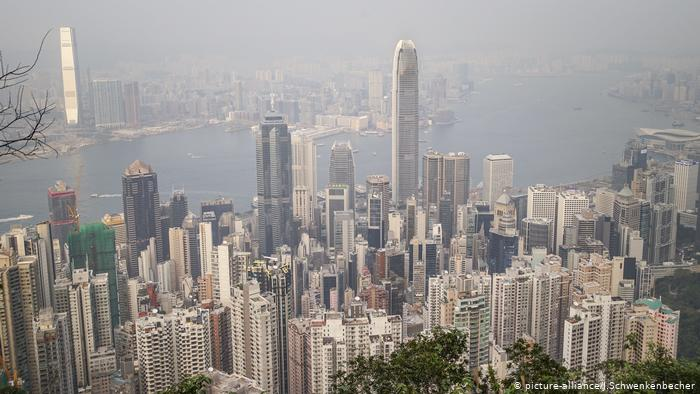 Hongkong, Skyline (picture-alliance/J.Schwenkenbecher)