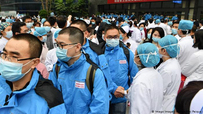 Coronavirus China Wuhan medizinisches Personal (Imago Images/Xinhua/Wei Peiqua)