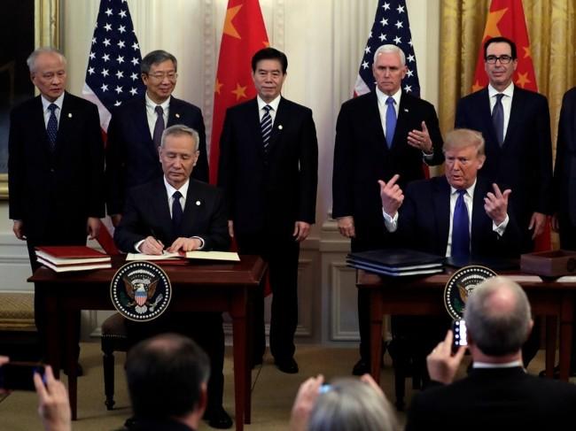 美称不会修改美中协议 仍希望中国履行采购承诺