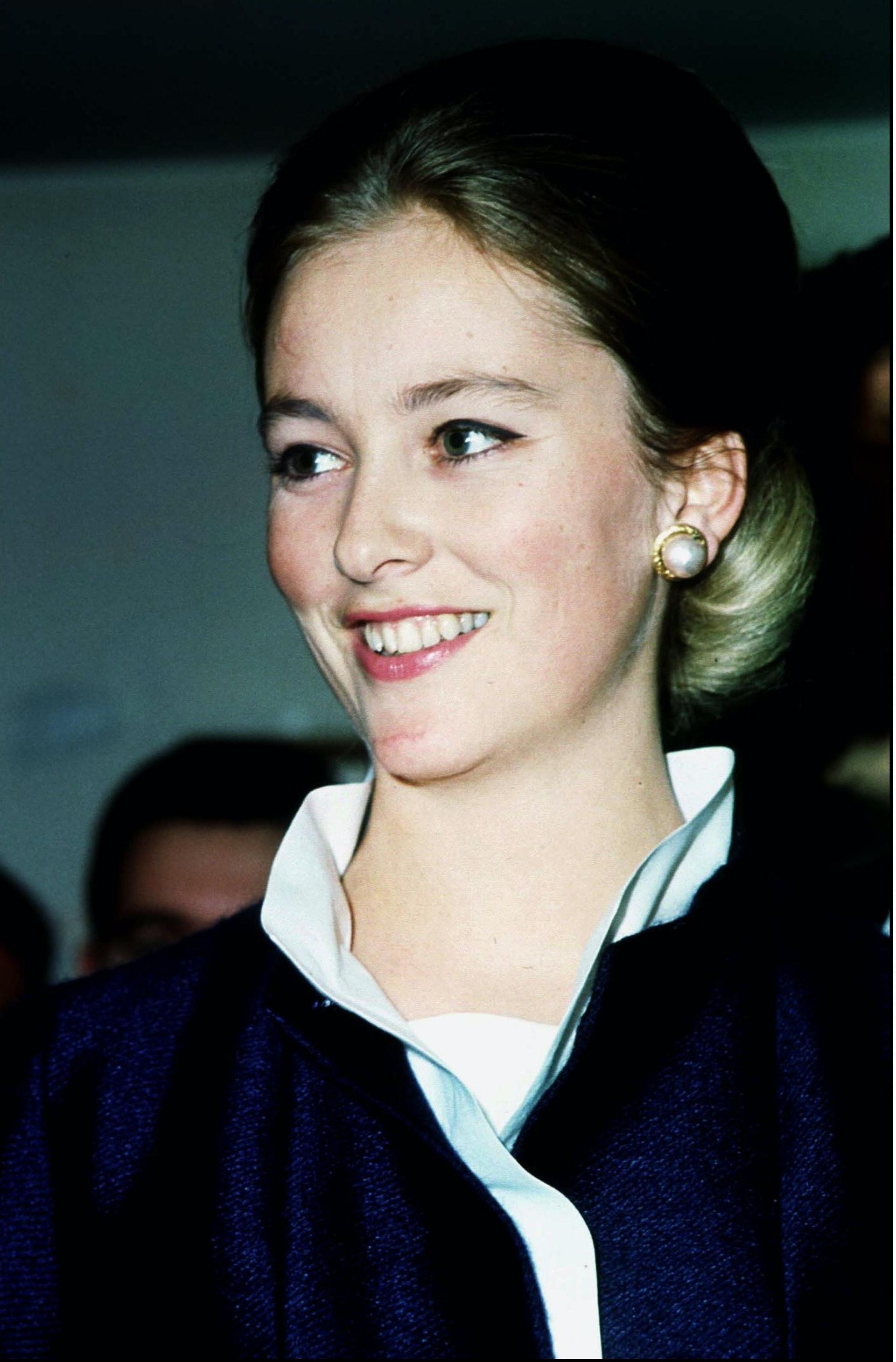 「在六、七十年代的欧洲,她十分有名,因为她太漂亮了,好比Grace Kelly,她到哪儿,『狗仔队便跟到哪儿。』」(Getty)